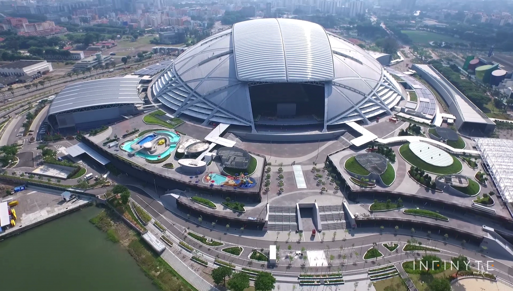 Singapore Aerial Videography