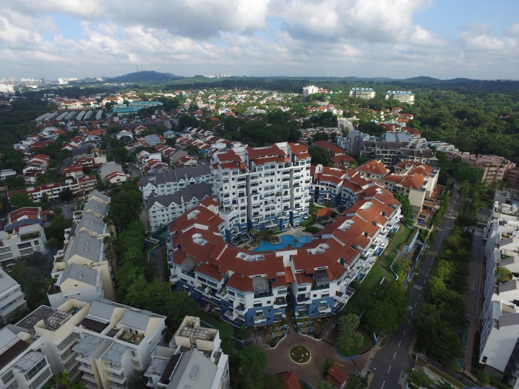 Singapore Aerial Photography